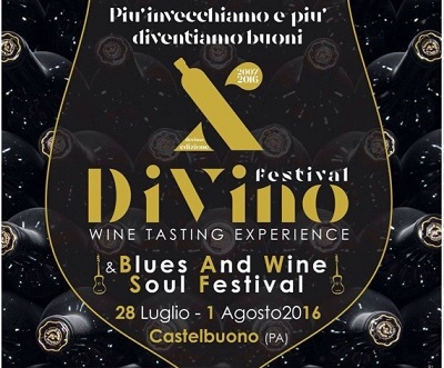 """DiVino"" and ""Blues and Wine Soul"" Festival in Castelbuono (PA)"