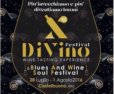 """""""DiVino Festival"""" e """"Blues & Wine Soul Festival"""" a Castelbuono (PA)"""