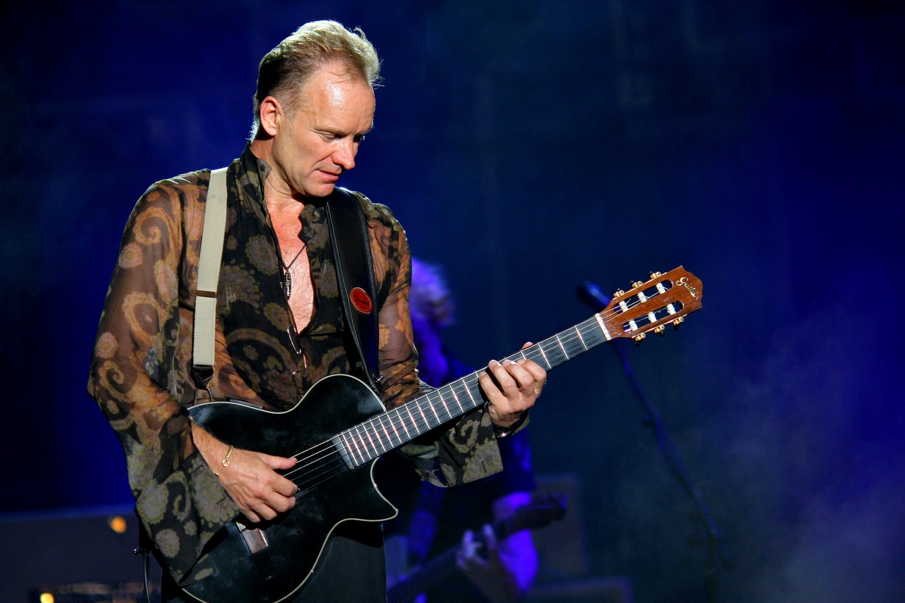 Sting&Shaggy in Taormina on August 1
