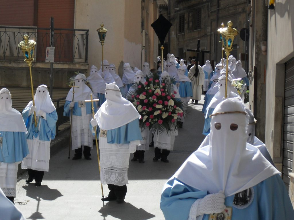 Easter procession in Enna
