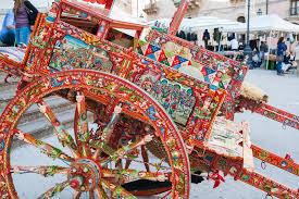 a Sicilian cart