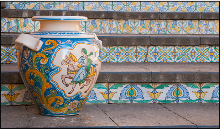 Caltagirone and its famous staircase