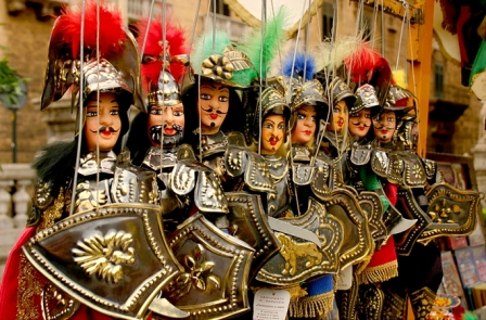 The Puppet Opera, a Sicilian tradition