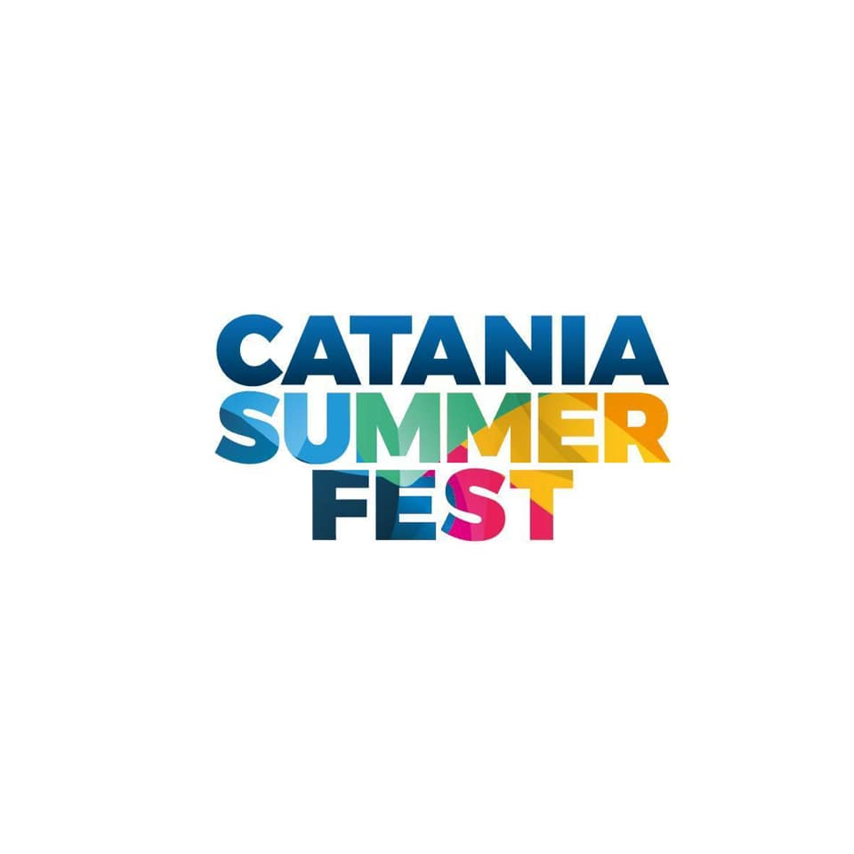 The poster of Catania Summer Fest 2019