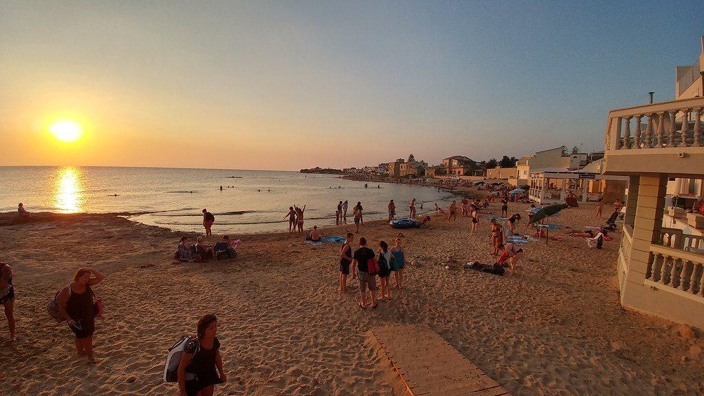Sunset at Punta Secca