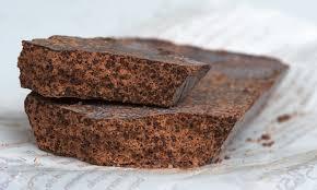 un pezzo di cioccolato di Modica