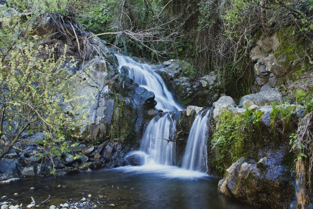 escursione cascate dell'oxena